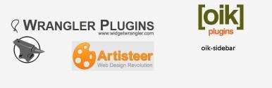 oik sidebar – Widget Wrangler for Artisteer themes