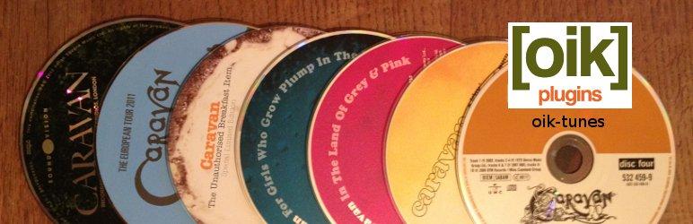 oik-tunes – CD/DVD audio catalog importer